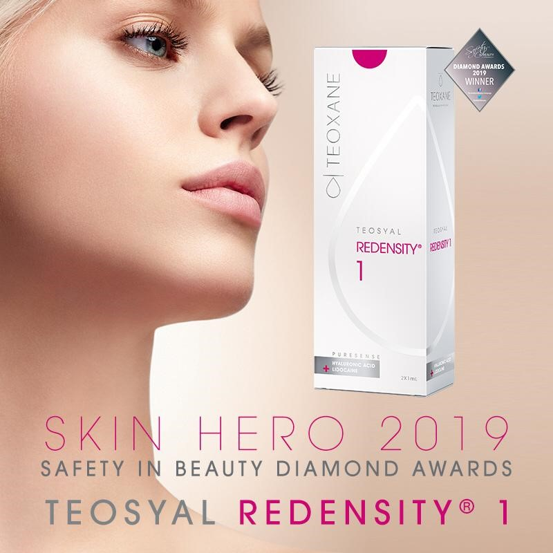 Redensity - Skin Hero 2019 safety in beauty diamon awards