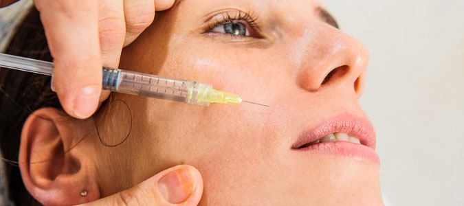Botox injections on the face are a safe aesthetic treatment, with no downtime