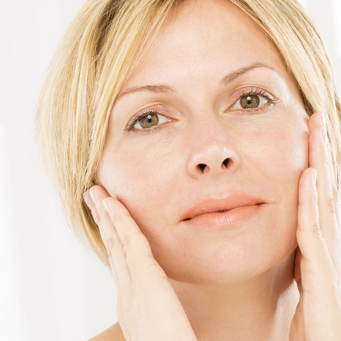 the appearance of facial sagging can be improved with chemical peels or dermal fillers