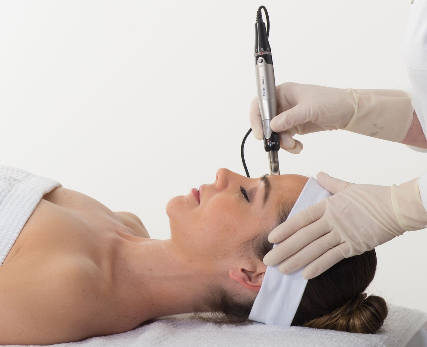 Micro-needling treatments at the Cooden Clinic
